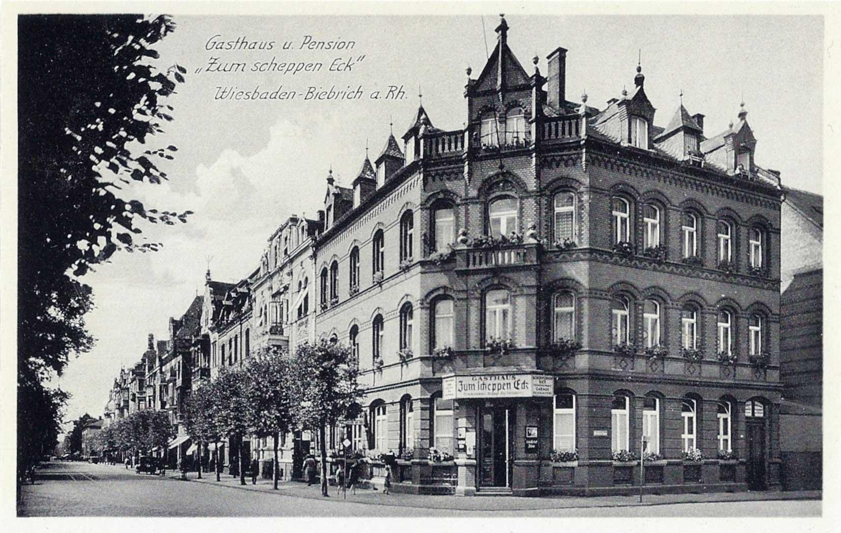 das alte Hotel Zum Scheppen Eck